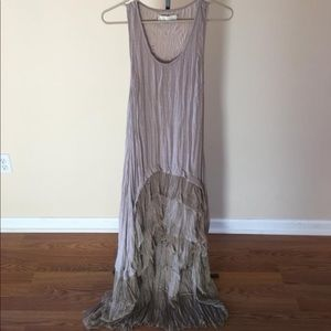 A'reve high low dress